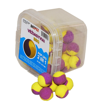 Pop up Dviejų spalvų Vėžegyvių - BBQ 15mm