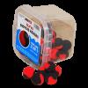 Pop up Dviejų spalvų Slyva - didysis krabas 15mm